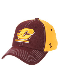 Central Michigan Chippewas Zephyr Clash Flex Hat - Maroon
