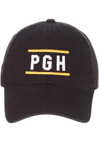Pittsburgh Zephyr Scholarship Adjustable Hat - Black