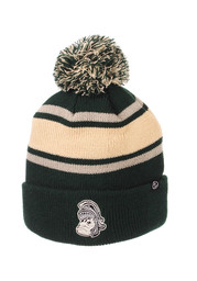 Michigan State Spartans Zephyr Tradition Cuff Knit - Green