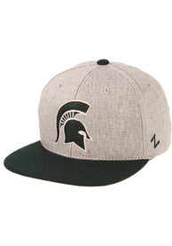 Michigan State Spartans Zephyr Boulevard Snapback - Grey