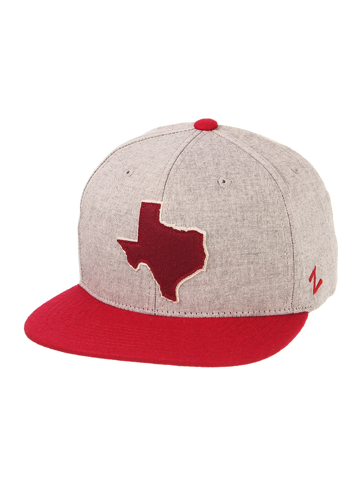 Zephyr Texas A&M Aggies Grey Boulevard Youth Snapback Hat - Image 1
