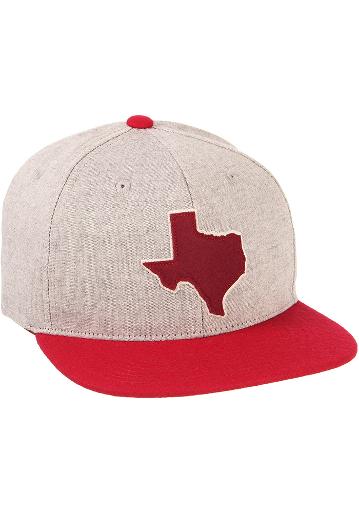 Zephyr Texas A&M Aggies Grey Boulevard Youth Snapback Hat - Image 2