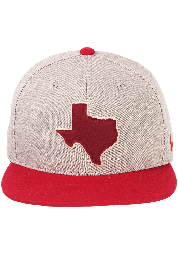 Zephyr Texas A&M Aggies Grey Boulevard Youth Snapback Hat - Image 3