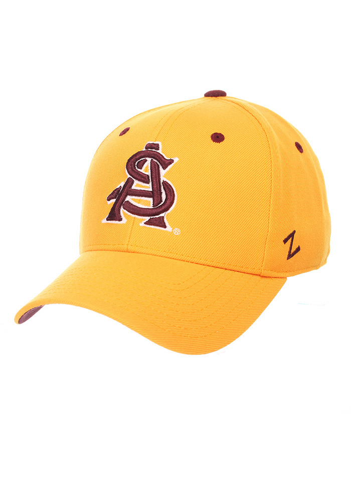 Arizona State Sun Devils DH Fitted Hat - Gold