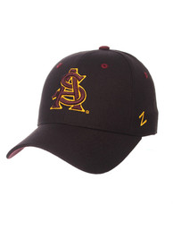 Arizona State Sun Devils DH Fitted Hat - Black