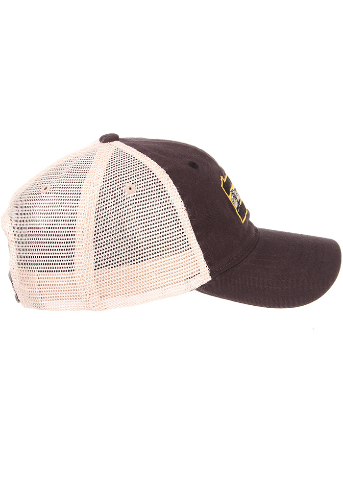 Zephyr Pittsburgh State with Bridge University Adjustable Hat - Charcoal - Image 7