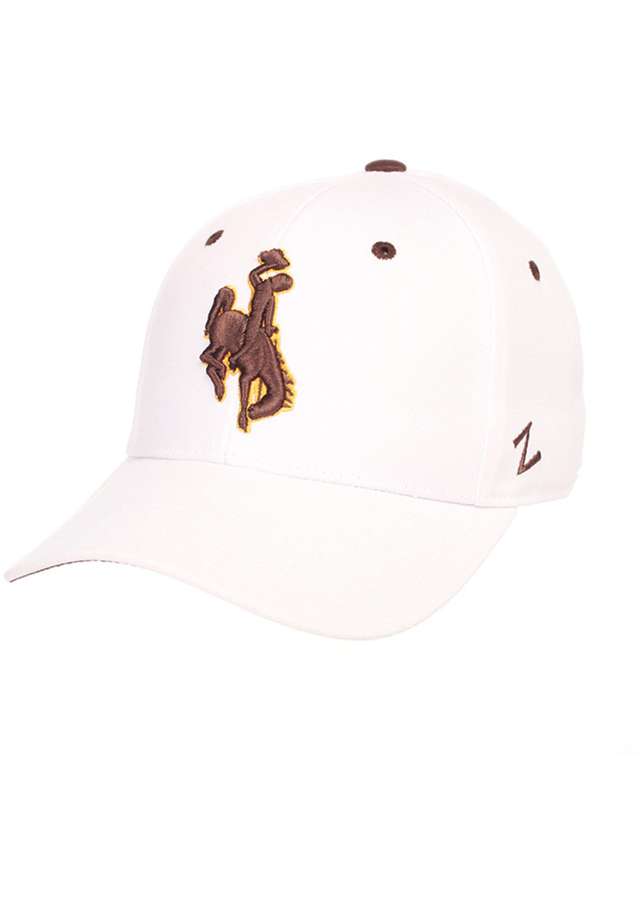 Wyoming Cowboys DH Fitted Hat - White