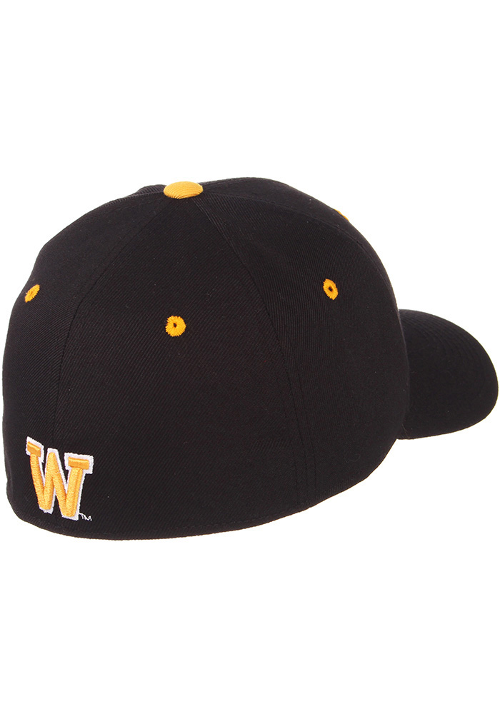 Zephyr Wyoming Cowboys Mens Black DH Fitted Hat