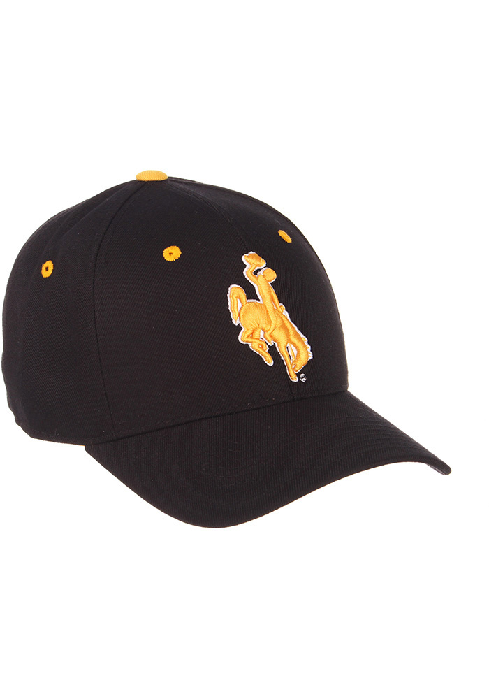 Zephyr Wyoming Cowboys Mens Black DH Fitted Hat - Image 4