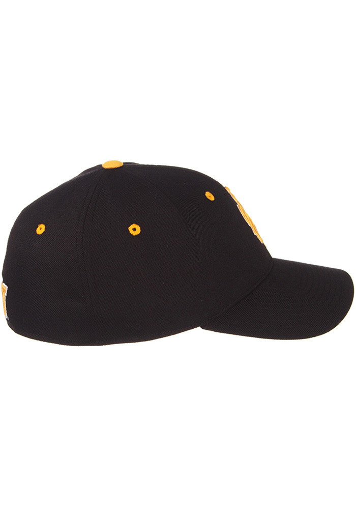 Zephyr Wyoming Cowboys Mens Black DH Fitted Hat - Image 5