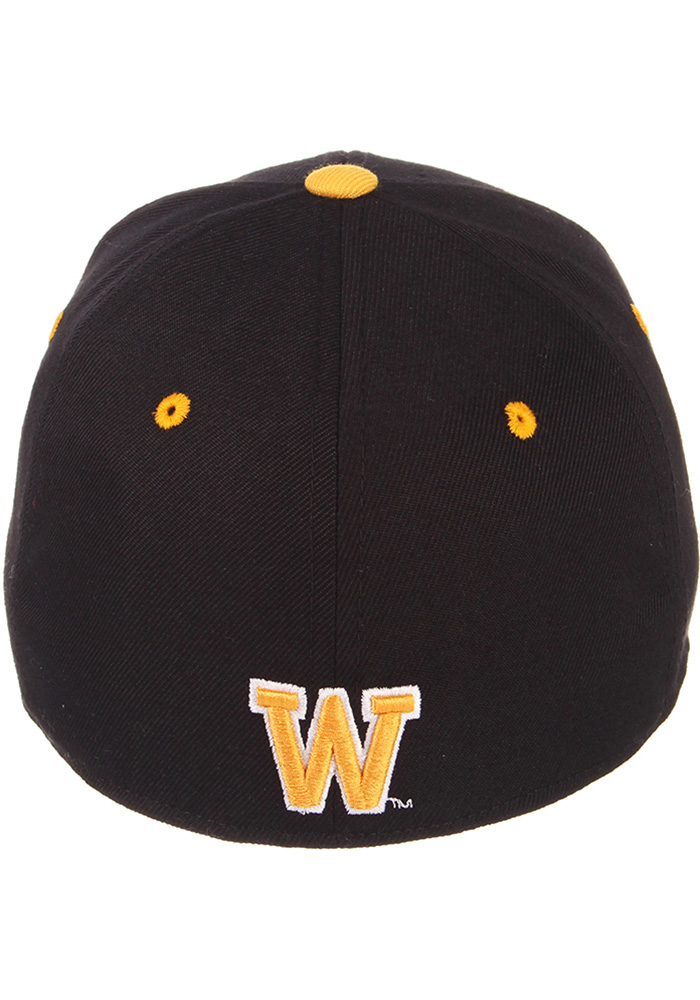 Zephyr Wyoming Cowboys Mens Black DH Fitted Hat - Image 6