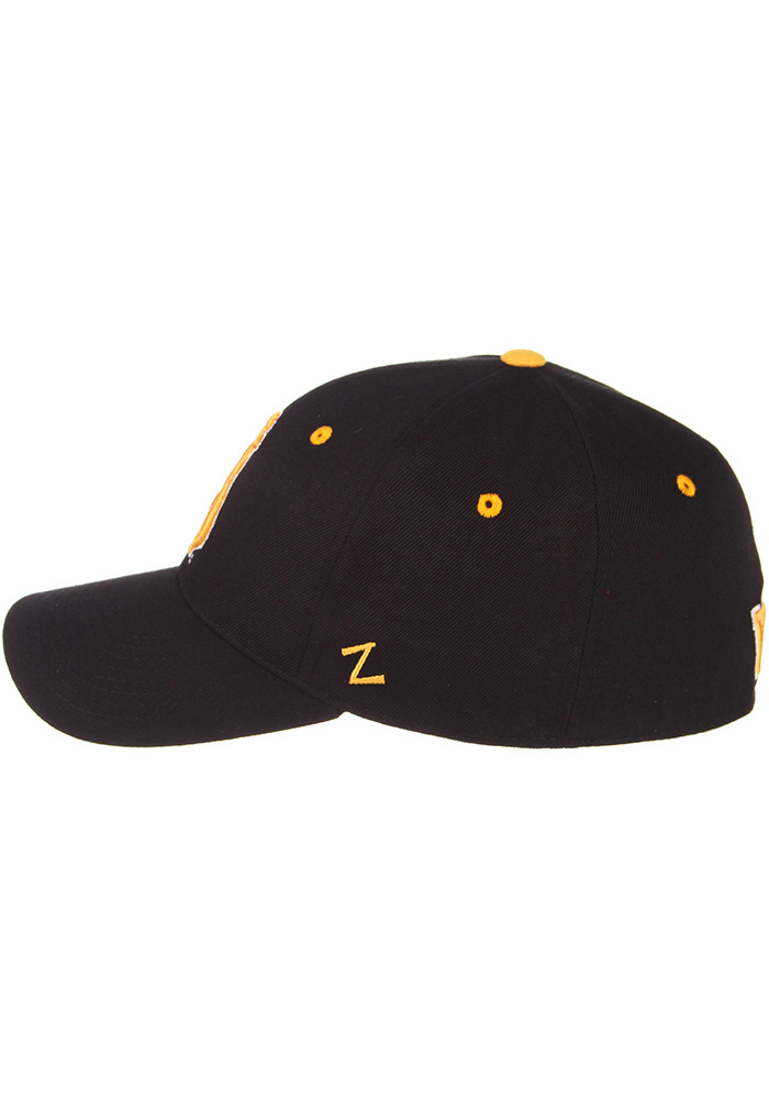 Zephyr Wyoming Cowboys Mens Black DH Fitted Hat - Image 7