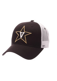 Vanderbilt Commodores Big Rig Adjustable Hat - Black