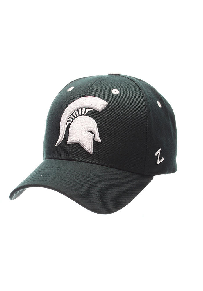 Zephyr Michigan State Spartans Competitor Adjustable Hat - Green - Image 1