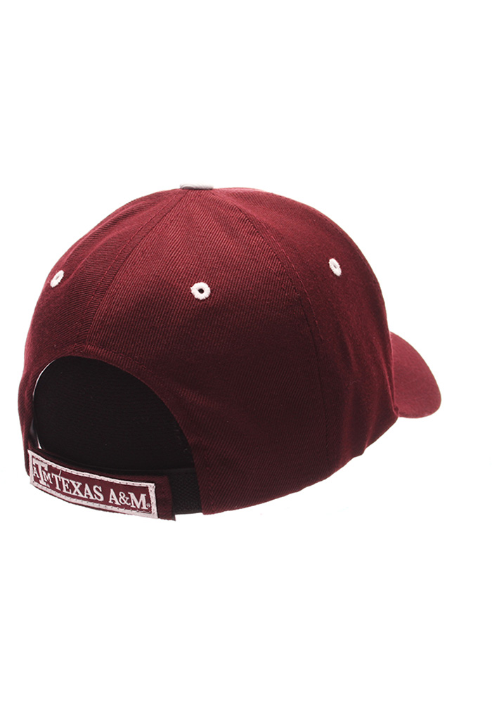 Zephyr Texas A&M Aggies Competitor Adjustable Hat - Maroon - Image 2