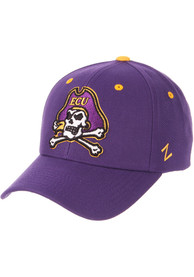 East Carolina Pirates Competitor Adjustable Hat - Purple