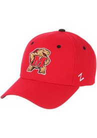 Maryland Terrapins Competitor Adjustable Hat - Red