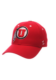 Utah Utes Competitor Adjustable Hat - Red