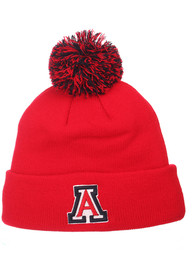 Arizona Wildcats Pom Knit - Red
