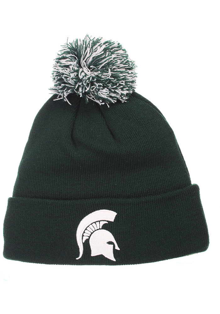 Michigan State Spartans Pom Knit - Green