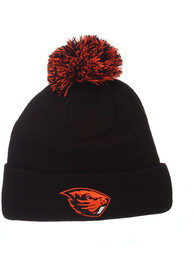 Oregon State Beavers Pom Knit - Black