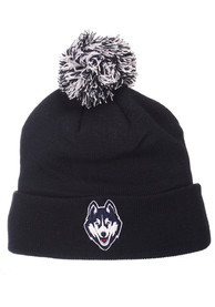 UConn Huskies Pom Knit - Navy Blue