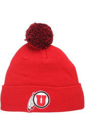 Utah Utes Pom Knit - Red