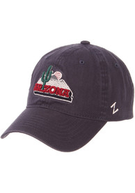 Arizona Wildcats Scholarship Adjustable Hat - Navy Blue