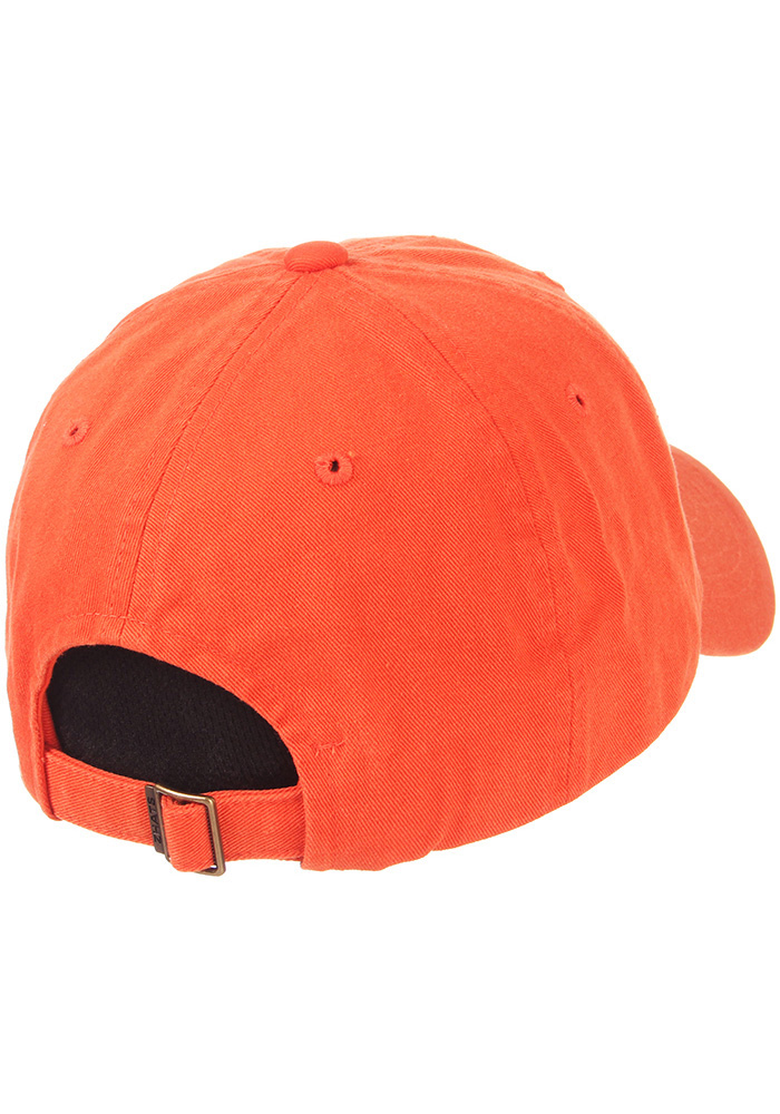 Zephyr Clemson Tigers Scholarship Adjustable Hat - Orange - Image 2