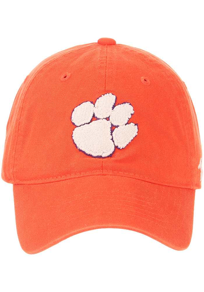 Zephyr Clemson Tigers Scholarship Adjustable Hat - Orange - Image 3