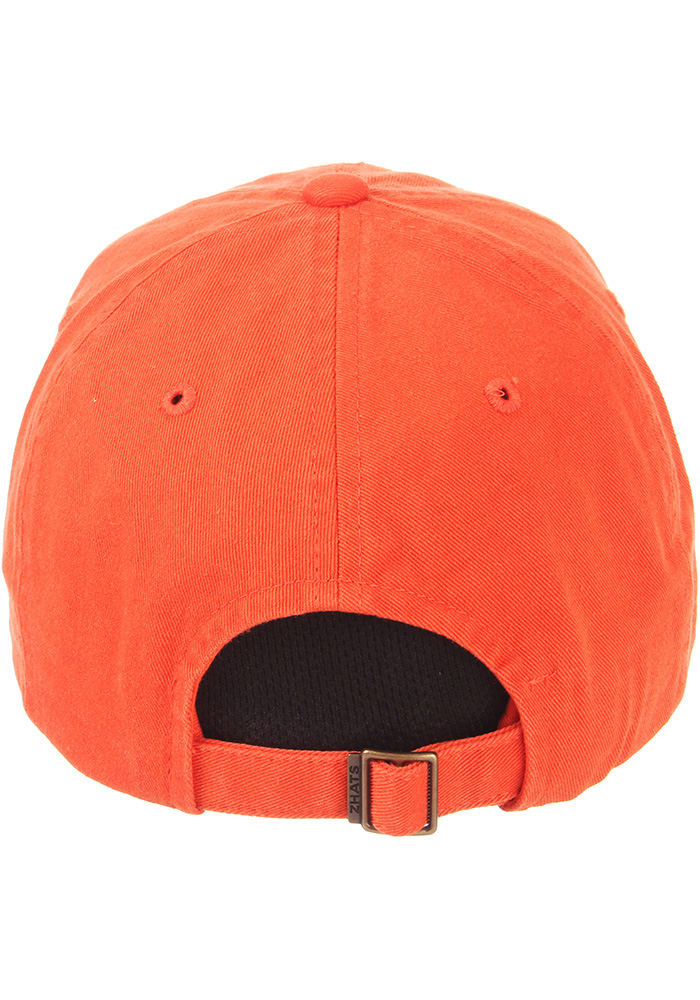 Zephyr Clemson Tigers Scholarship Adjustable Hat - Orange - Image 6