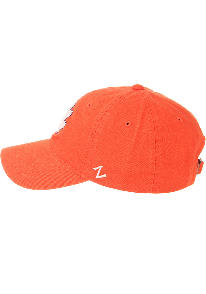 Zephyr Clemson Tigers Scholarship Adjustable Hat - Orange - Image 7