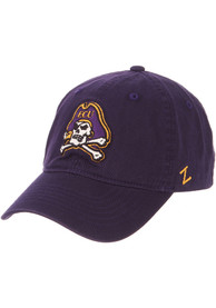 East Carolina Pirates Scholarship Adjustable Hat - Purple