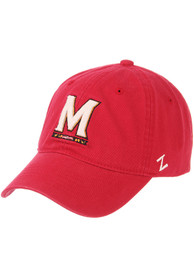 Maryland Terrapins Scholarship Adjustable Hat - Red