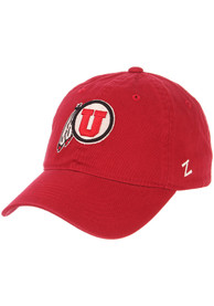 Utah Utes Scholarship Adjustable Hat - Red