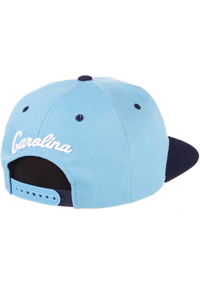 Zephyr North Carolina Tar Heels Light Blue Z11 Mens Snapback Hat - Image 2