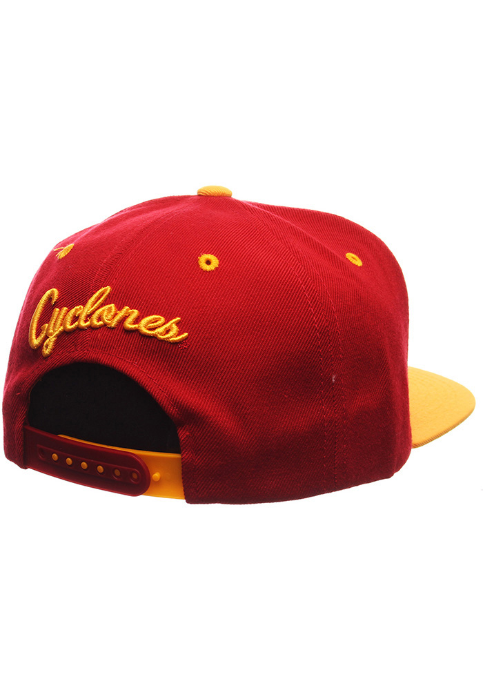 Zephyr Iowa State Cyclones Red Z11 Mens Snapback Hat - Image 2