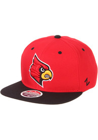 Louisville Cardinals Z11 Snapback - Red