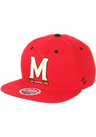 Maryland Terrapins Z11 Snapback - Red