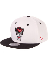 NC State Wolfpack Z11 Snapback - White
