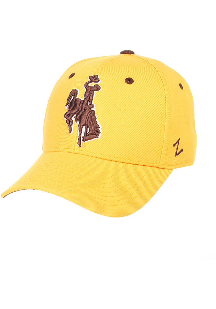 Wyoming Cowboys DH Fitted Hat - Gold