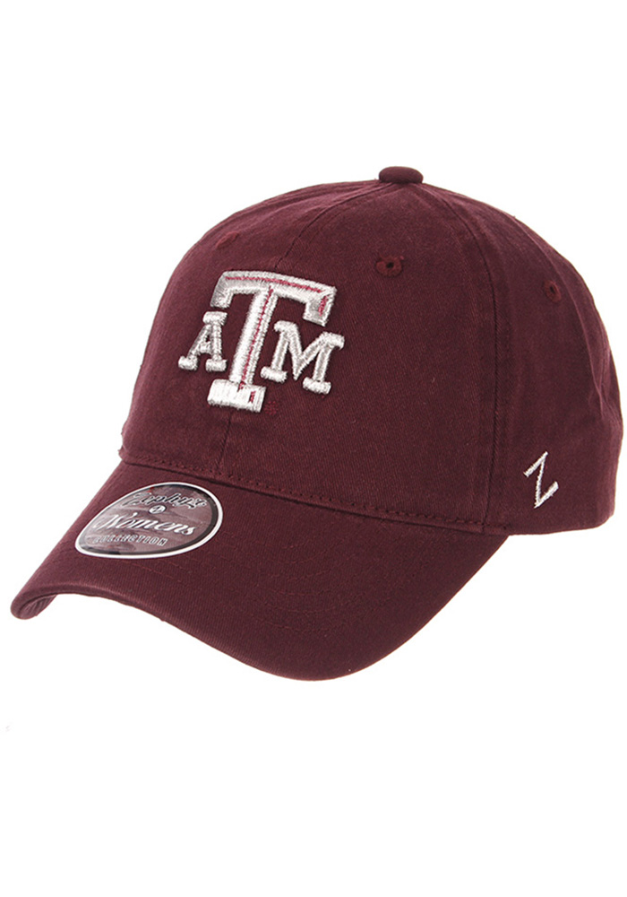 Zephyr Texas A&M Aggies Maroon Girlfriend Womens Adjustable Hat - Image 1