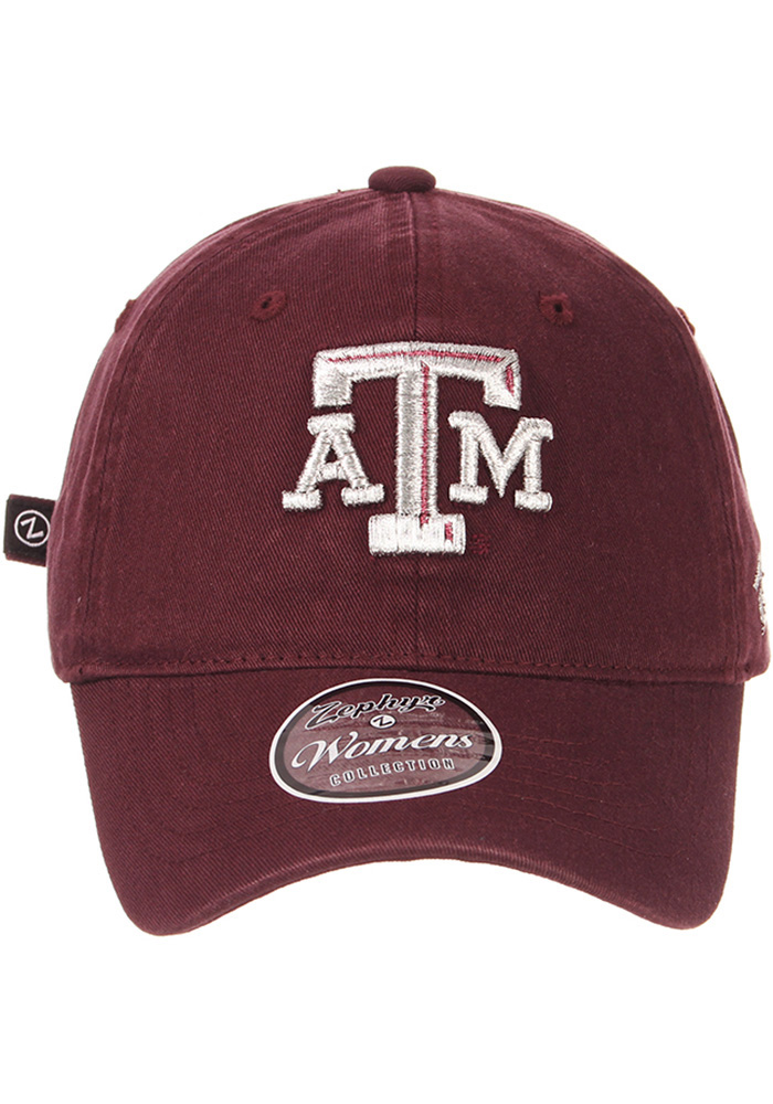 Zephyr Texas A&M Aggies Maroon Girlfriend Womens Adjustable Hat - Image 3