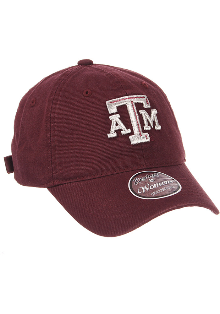 Zephyr Texas A&M Aggies Maroon Girlfriend Womens Adjustable Hat - Image 4