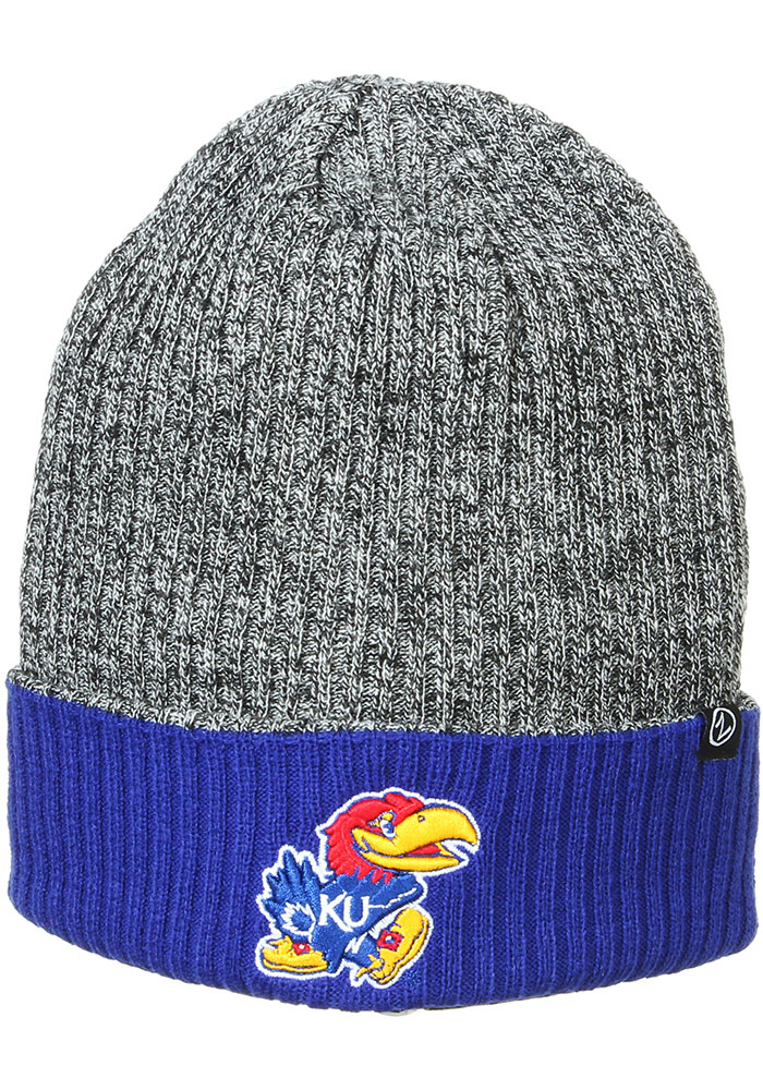 Kansas Jayhawks Zephyr Muse Reversible Cuff Knit - Blue
