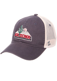 Arizona Wildcats University Meshback Adjustable Hat - Navy Blue