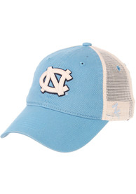 North Carolina Tar Heels University Meshback Adjustable Hat - Light Blue