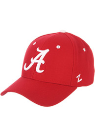Alabama Crimson Tide DH Fitted Hat - Red