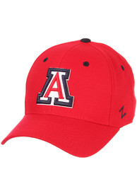 Arizona Wildcats DH Fitted Hat - Red