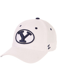 BYU Cougars DH Fitted Hat - White
